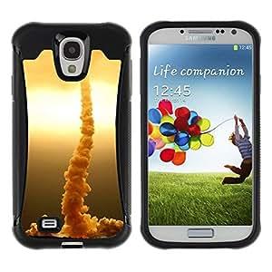 Suave TPU GEL Carcasa Funda Silicona Blando Estuche Caso de protección (para) Samsung Galaxy S4 IV I9500 / CECELL Phone case / / Rocket rises /