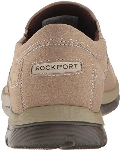 Rockport - Get Your Kicks Perfed Slip on da uomo Greige