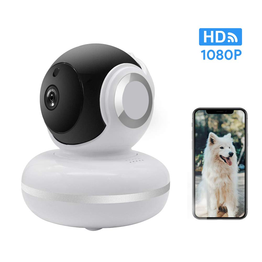 Owfeel WiFi IP Camera Wireless Indoor Camera HD Smart Camera Security Surveillance System with The Infrared Night Vision Feature for Baby/Elder/Pet Camera by Owfeel