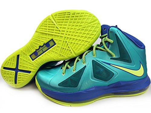 3cead683c9ed Nike Kids Lebron 10 X GS Sport Turquoise