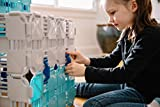 Fort Boards Starter Pack - Kids Building Toy and Construction Blocks - 43 Piece Set - Gray