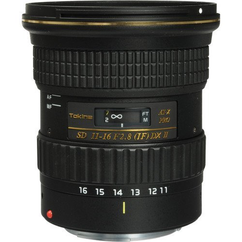 TOKINA at-X 11-16mm F2.8 DXII Canon