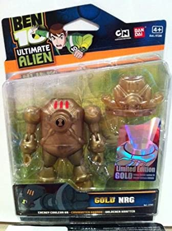 BEN 10 GOLD 10cm ULTIMATE NRG LIMITED EDITION: Amazon.es ...