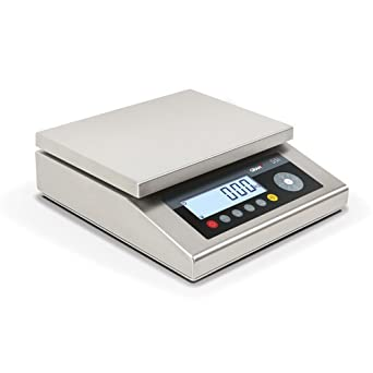 Balanza industrial Inox Gram Precision modelo S5I-30 RS (30Kg/2g) dimensiones