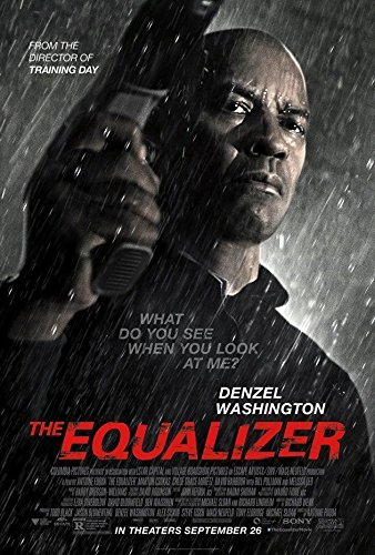 THE EQUALIZER Original Movie Poster 27x40 - DS - Equalizer Poster