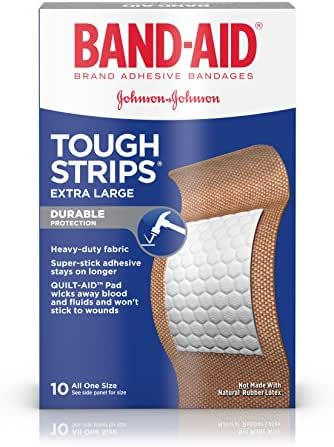 Band-Aid Tough Strips