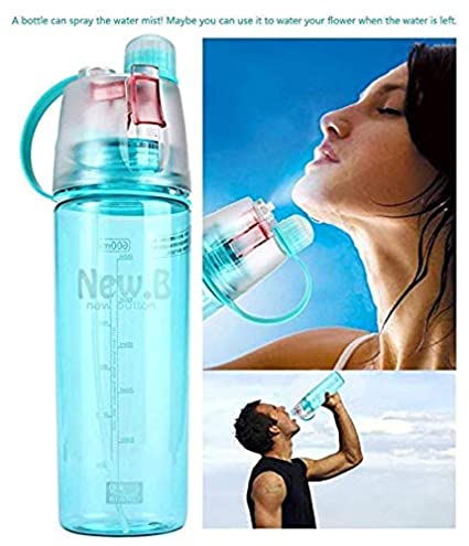 600ML Large Capacity Water Bottle Fr Outdoor Bicycle Cycling Sports Gym Drinking