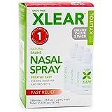 Xlear Saline Nasal Spray with Xylitol - 0.75 oz - 3 ct