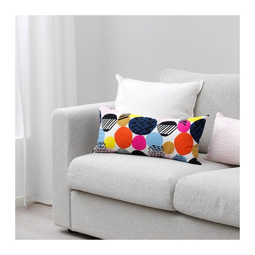 Ikea 503.895.69 Nedja - Cojín multicolor (12 x 24): Amazon ...