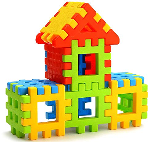 Lodestone Building Block Toy for Kids, Age 2 to 5, 30 Piece  Multicolour