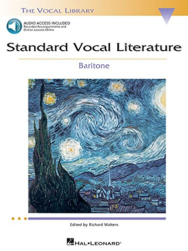 Standard Vocal Literature - An Introduction to Repertoire: Baritone (Vocal Library) (Book Baritone)
