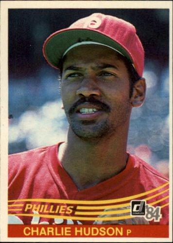 Amazoncom 1984 Donruss Baseball Card 448 Charles Hudson Mint