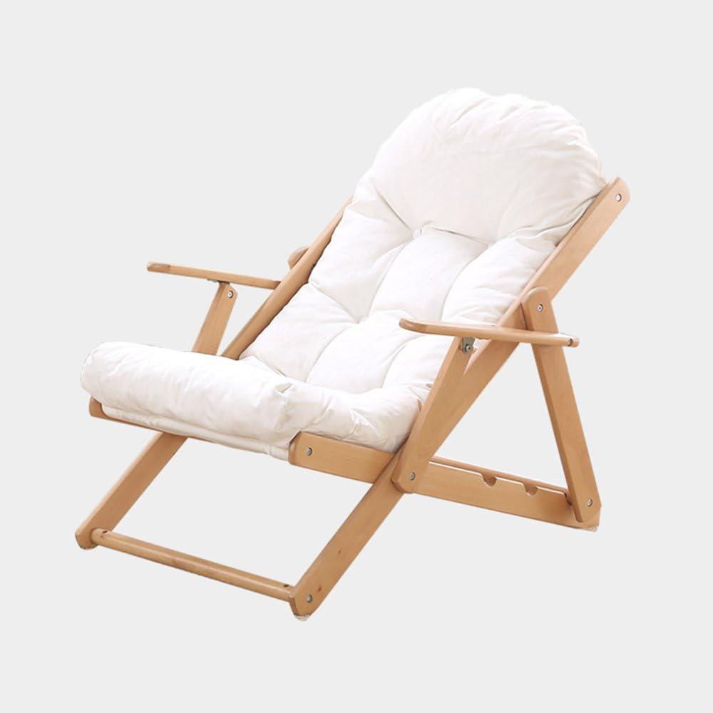 MEIDUO Rocking Chairs Reclining Garden Chair Beach Sun Lounger