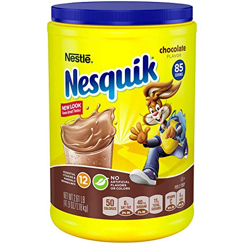 (Nestle Nesquik Chocolate Powder 41.9 oz (Pack of 2))