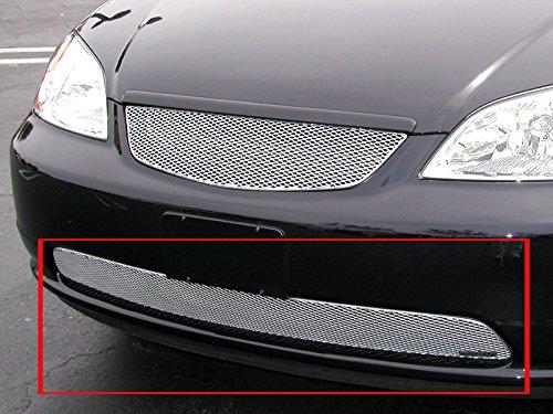 2001-2003 HONDA CIVIC (Non SI Models) LOWER GRILLE (Aluminum Silver) ()