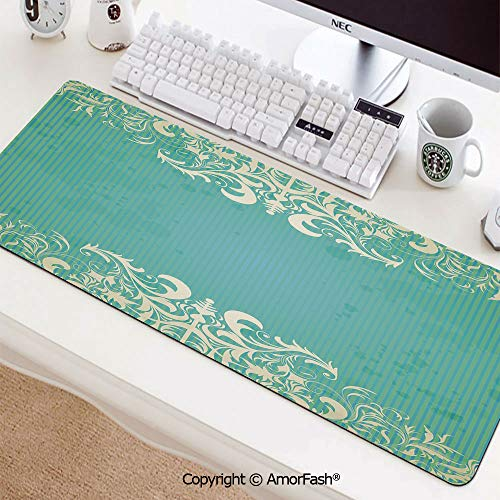 (Mouse Pad,Anti Slip Planet Mouse Mat for Desktops,Computer,PC and Laptops,35.5