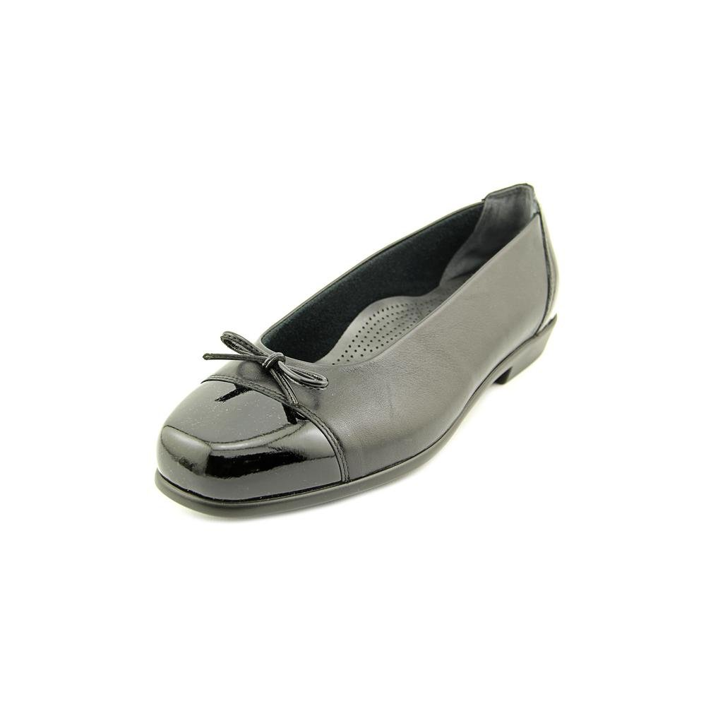 SAS Women's, Coco Slip on Flats B018UAJ7RI 9.5 N - Narrow (AA) US|Black Bow