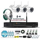 Jennov CCTV Wireless Security Bullet IP ...