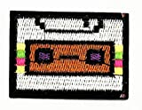 Nipitshop Patches Radio Cassette Tape Player Music