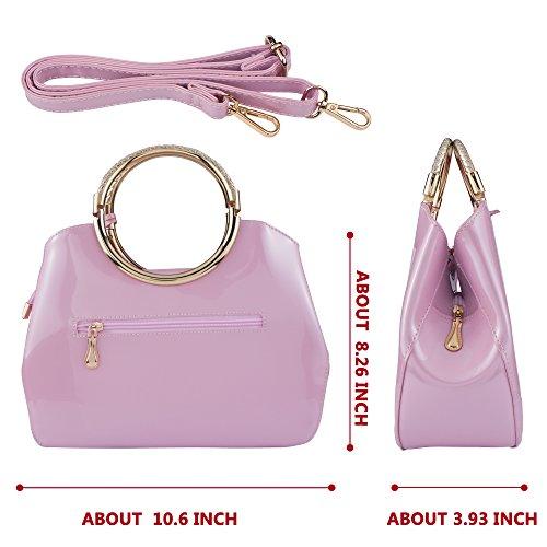 Pochette pour Bagood unique femme Taille rose qURzdx5zF