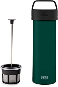 Espro 5116C-19GN Ultralight French Press, 16oz, Green
