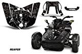 AMR Racing ROAD-CAN-SPYDERF3HOOD-REAPER-BK