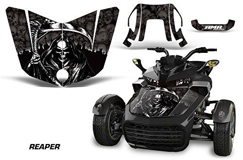 AMR Racing ROAD-CAN-SPYDERF3HOOD-REAPER-BK