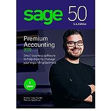 Sage Software Sage 50 Premium Accounting 2019 U.S. 2-User (2-Users)