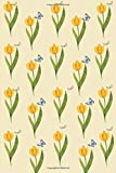 Journal: Butterflies and Yellow Flowers 6x9 - LINED JOURNAL - Journal with lined pages - (Diary, Notebook) (Birds & Buttte...