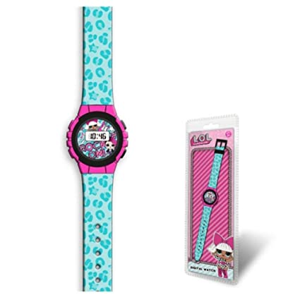 LOL Surprise- Reloj Digital (DI2200LOL), (Kids Licensing 1)