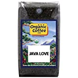 The Organic Coffee Co, Java Love- Whole Bean, 2-Pound (32 oz.), USDA Organic