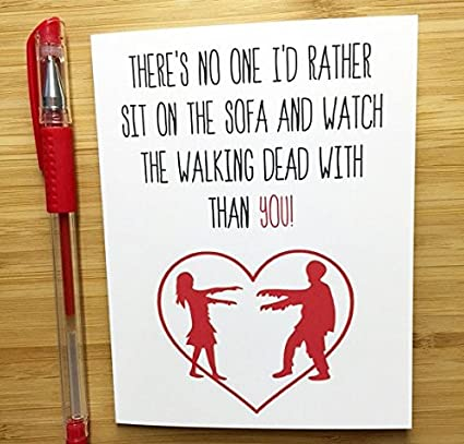 Amazon The Walking Dead Greeting Card Office Products