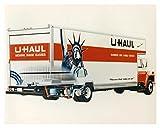 1988 U Haul Super Mover Van Factory Photo