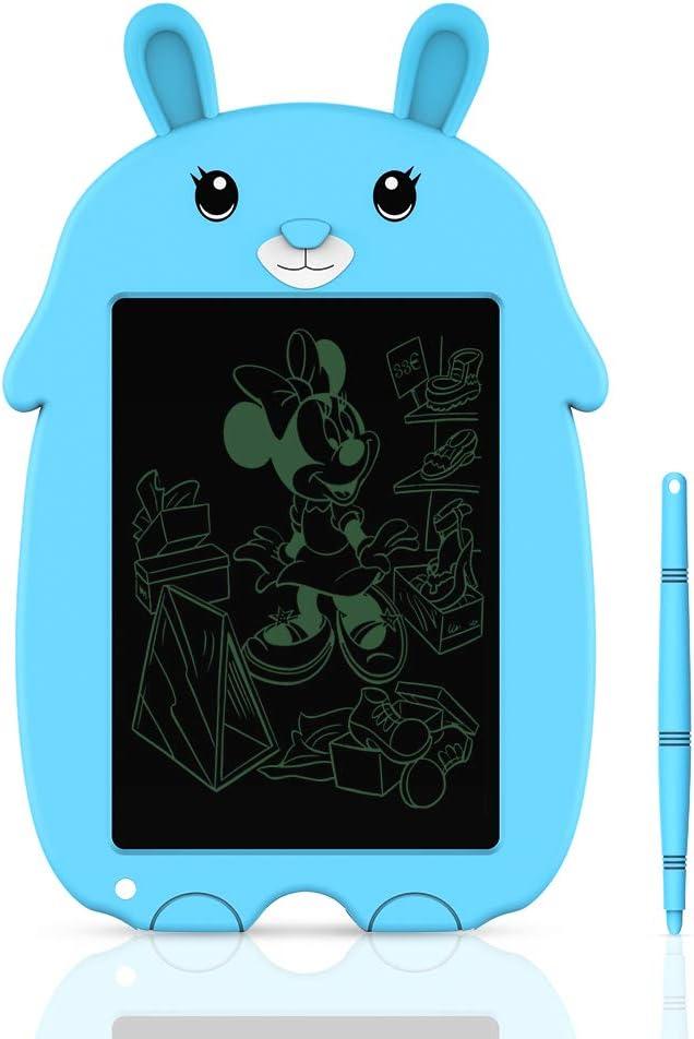 Tableta de Dibujo para Niños, Tableta de Escritura LCD Doosl Tablero de Escritura y Dibujo Electrónico de 8,5 Pulgadas-Regalo para Niños, Tableta de Dibujo y Escritura Uso Doméstico y Escolar (Azul)