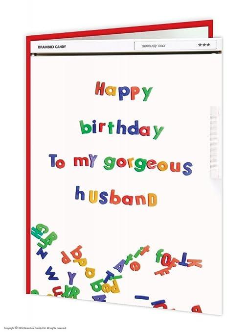 Amazon.com: BrainBox Candy Funny Humor Feliz cumpleaños ...