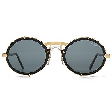 1157e537ec0 Cazal Legends 644 Super Round Sunglasses in Black 644 001 53 at Amazon Men s  Clothing store