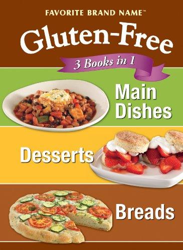 Download Glutten Free: 3 Books in 1: Main Dishes, Desserts, Breads PDF