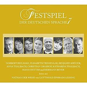 Nathan der Weise (Festspiel der deutschen Sprache 7) Hörspiel