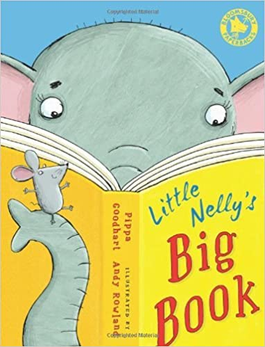Book Little Nelly's Big Book by Pippa Goodhart (2012-01-05)