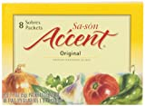 Sa-son Accent Seasoning, Original Flavor, 8 Packets (Pack of 36)