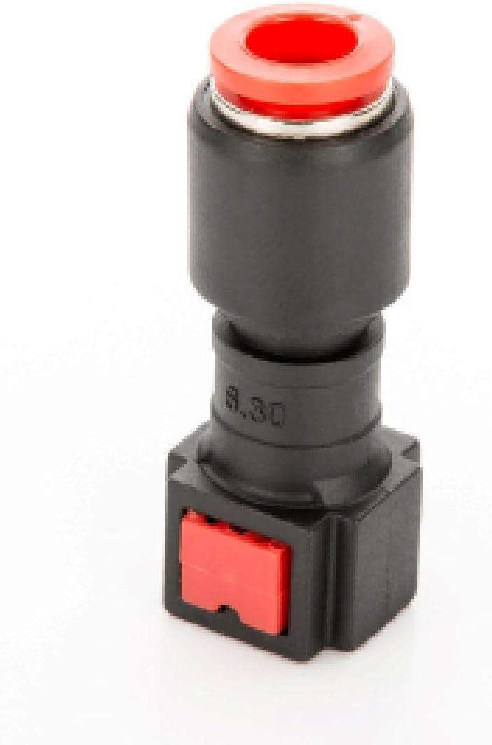 LST 2x Kraftstoffleitung Verbinder Schlauchkupplung Schnellverschluss 6.3x8mm gerade