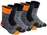Dickies Men's Dri-tech Moisture Control Crew Socks