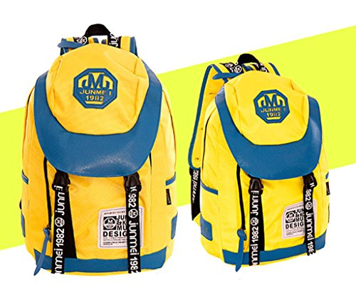 Bolso Azul Drasawee Para Mujer Amarillo Mochila Znxxqd1gTU