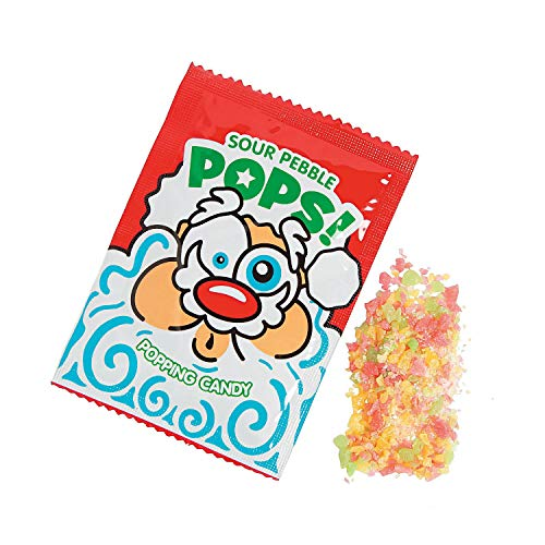 - Sour Santa Popping Christmas Candy Stocking Stuffer (Pack of 36)