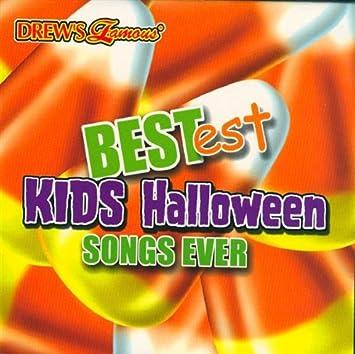 drewu0027s famous bestest kids halloween songs