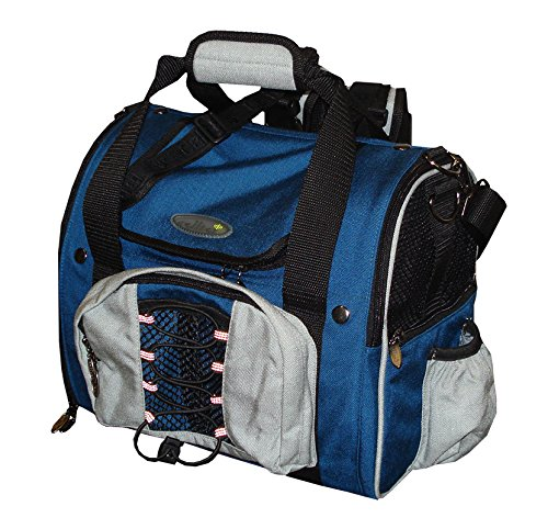 Celltei Backpack-o-Pet - Cordura(R) Blue & Light Grey - Small Size by Celltei