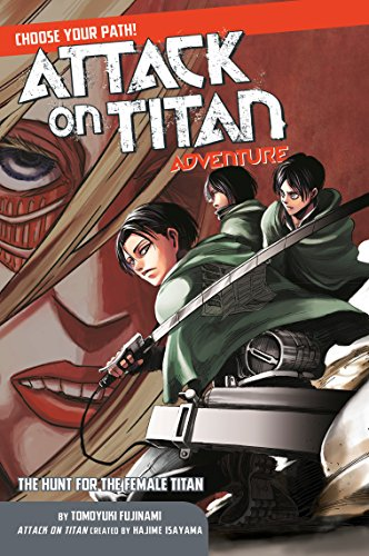 Adventure Path Set - Attack on Titan Choose Your Path Adventure 2: The Hunt for the Female Titan