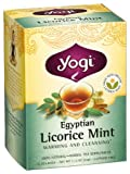 Yogi Tea, Egyptian Licorice Mint, 16 Count (Pack of 6), Packaging May Vary