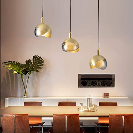 YMGW Lámpara Colgante Luz de Techo iluminación Cocina Escalera Dormitorio Salon Comedor Sala Restaurante Bar cafetería Lámpara de Techo: Amazon.es: Hogar