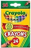 Crayola クレオラ クレヨン ベーシックな24色 [並行輸入品]